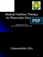 K - 28 Medical Nutrition Therapy for Rheumatic Disorders (Gizi)