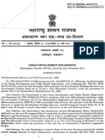 Development Promotional Control Regulations for Class a, B, C Towns in Maharashtra