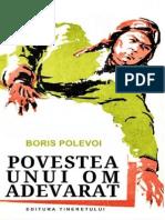 Boris Polevoi-Povestea Unui Om Adevarat