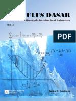 Kalkulus Dasar 1.0 PDF Version