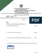 Advanced Java (ICTST40204)-PartB