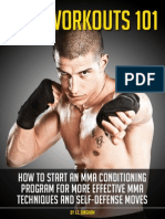 Mma Workouts 101 Guide Revised