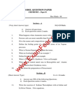 Sample Paper of Class 12th Chemistry (Sciences)
