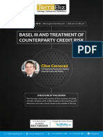 Basel III and Counter Party Credit Risk