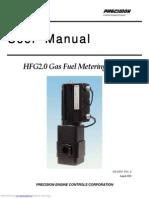 User Manual - Precision Gas Fuel Metering Valve Hfg20