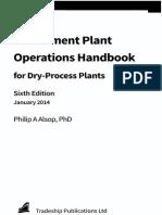 Handbook pdf cement plant operations