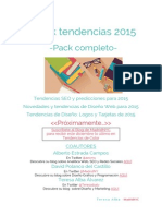eBook Tendencias 2015 Pack SEO Diseño Grafico y Web Teresa Alba MadridNYC