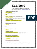 SLE 2010-5