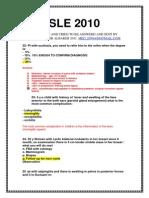 SLE 2010-4