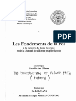 Les Fondements de La Foi a La Lumiere Du Coran Et de La Sunnah