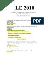 SLE 2010-6