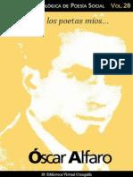 Alfaro Oscar - Coleccion Antologica de Poesia Social 28