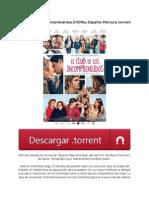El Club de Los Incomprendidos.dvdrip.español.película.torrent