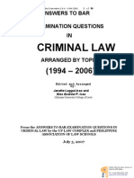 Criminal Law Suggested Answers Libre
