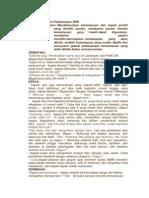 Strategi Tindakan Pelaksanaan HDR