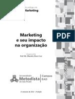 Marketing e Seu Impacto Na Organização