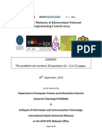 Acm i Cpc 2014 All Questions