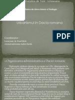 Urbanismul in Dacia Romana