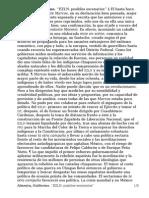Almeyra, Guillermo. ''EZLN, Posibles Escenarios'' [La Jornada; México; 8–6–2014]