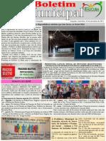 Boletim Municipal - Dezembro de 2014. Fomato Grande