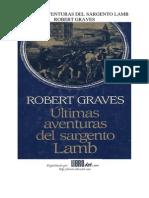 Graves, Robert - Ultimas Aventuras Del Sargento Lamb