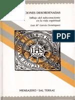 Las afecciones desordenadas, influjo del subconsciente en la vida espiritual - Sal Terrae, 1992.pdf
