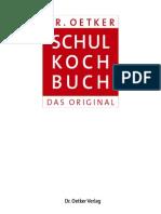 Dr Oetker Schulkochbuch Trail