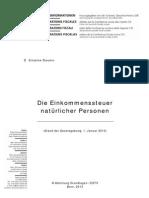 Die+Einkommenssteuer+natürlicher+Personen_2013