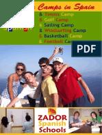 Summer Camps Teenagers Spain ZADORSPAIN