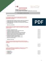 Pwc Questionnaire Gouvernance Des Donnees 2010