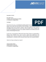 Letter Re MP