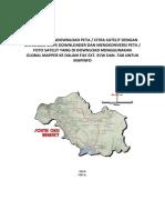 TUTORIAL MENDOWNLOAD PETA Citra Satelit Dan Konversi Untuk Mapinfo