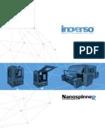 Inovenso Electrospinning Machines Catalog