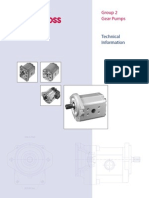 Gear Pumps Technical Information