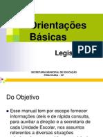 Orientacoes Basicas-LEGISLACAO Ajust