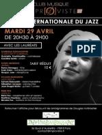 Soirée internationale du jazz-final. I
