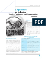 Organic Agriculture and Food Industry