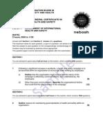 Nebosh-igc1 2 Papers