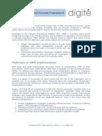 CMMI with Digité Universal Process Framework