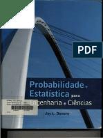 Probabilidade e Estatistica Para Engenharia e Ciencias - Jay L Devore