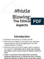 Whistle Blowing Session 9