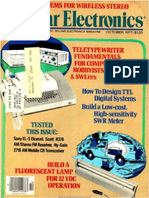 PE197710 pdf | Floppy Disk | Very High Frequency