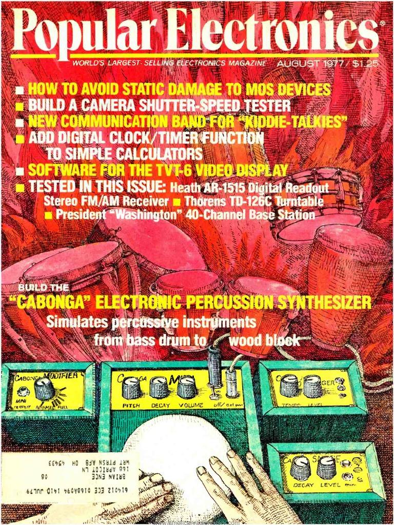 Pe197708pdf Duplex Telecommunications Modem 200ma Hour 8211 12v Nicad Battery Charger