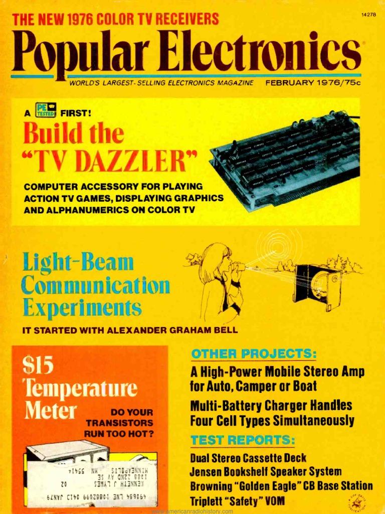 Pe197602pdf Electronic Engineering Telecommunications Beam Circuits Quad Opamp Walker