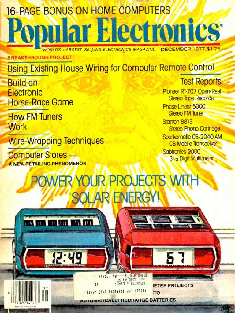 Pe197712pdf Computer Data Storage Electronics Simple Swr Power Meter Circuit Using 1n60