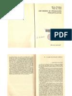 Los modos de producción precapitalistas. Capítulo 4