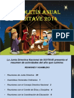 Boletin Anual SOITAVE 2014