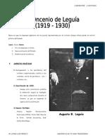 Oncenio de Leguía(NO BORRAR)