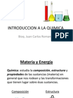 Introduccion a La Quimica