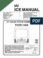 TVCR-1404 Service Manual